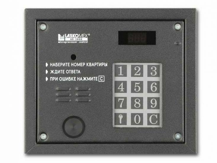 Блок вызова домофона Laskomex AO-3000 VPR