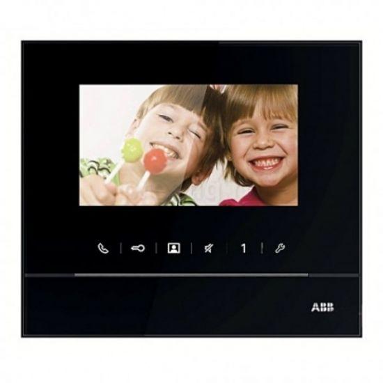 Монитор видеодомофона ABB M22311 (черный, белый)