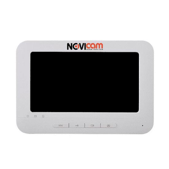 Монитор Novicam NDM7F видеодомофона с Wi-Fi