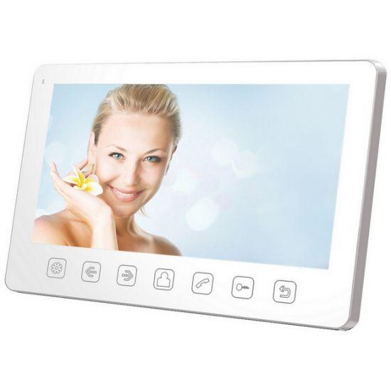 Монитор видеодомофона Tantos Amelie Slim (черный, белый)