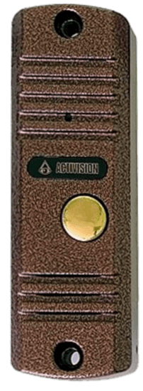 Панель Activision AVC-305M (серебряный антик, медь) вызывная для видеодомофона