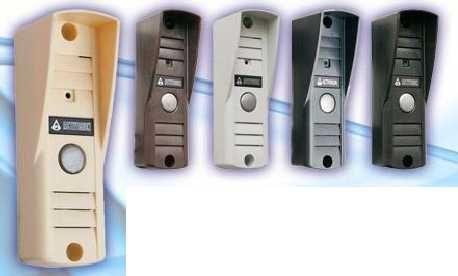 Панель Activision AVP-505 PAL (черный, коричневый, бежевый, темно-серый, светло-серый) вызывная для видеодомофона