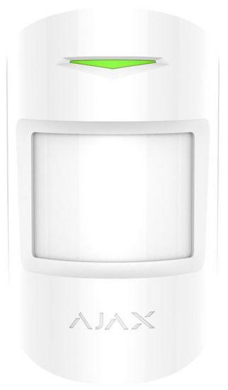 Датчик Ajax MotionProtect Plus White движения с микроволновым сенсором