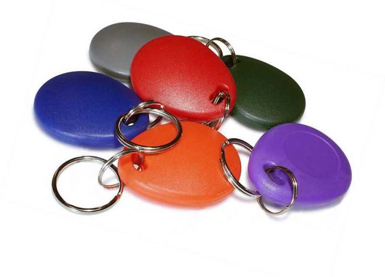 Заготовка RFID (H2) одноцветный брелок