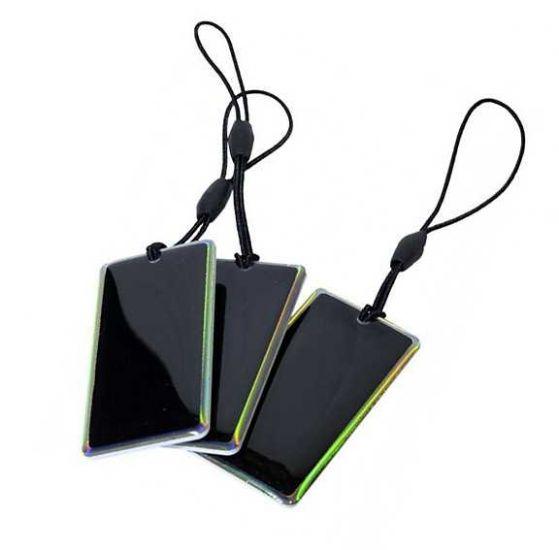 "Заготовка RFID (H2) ""Черная карта"" Epoxy брелок"