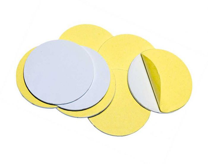 Заготовка RFID (H2) диск самоклейка