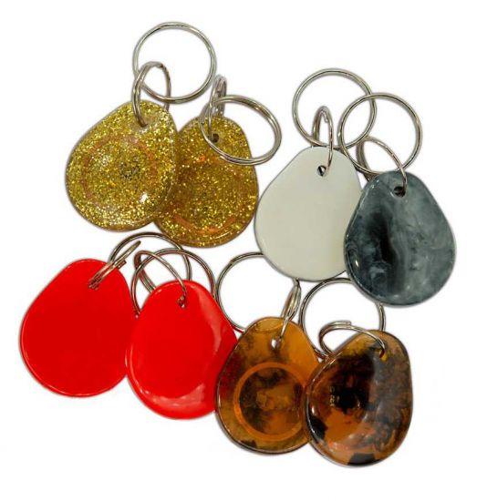 """Заготовка RFID (OTP) """"stone"""" антифильтр брелок"""