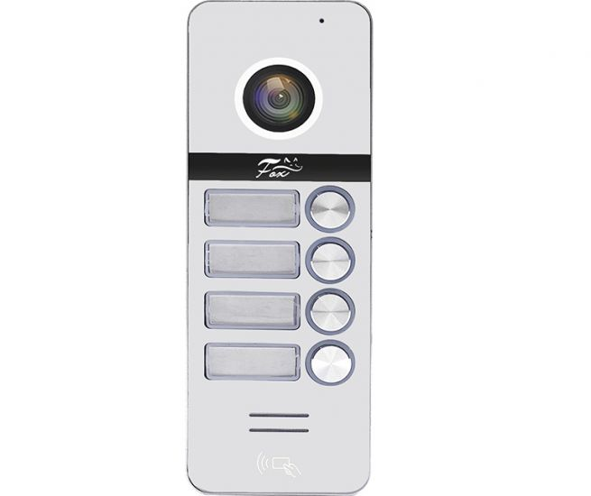 Вызывная панель для видеодомофона FOX FX-CP80 4КН