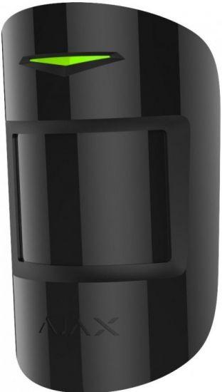 Датчик Ajax MotionProtect Plus Black движения с микроволновым сенсором