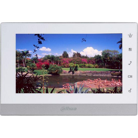 Монитор Dahua DHI-VTH1550CH (белый) видеодомофона