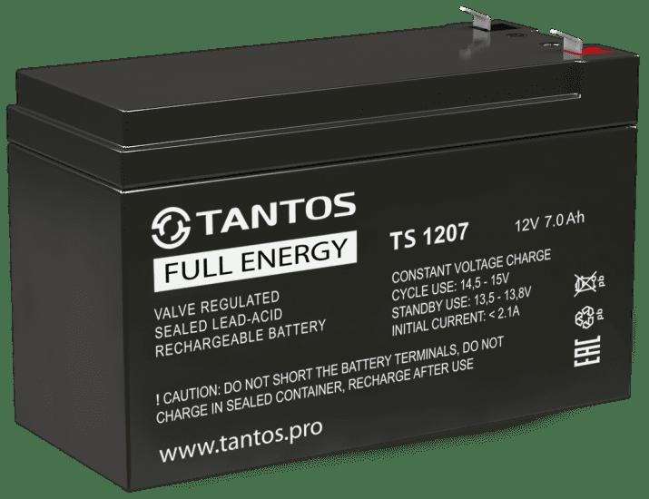 Аккумулятор TANTOS 12В 7 А.ч (TS 1207)