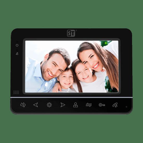 Монитор ST-M101/7 (S/SD) (белый, черный) видеодомофона
