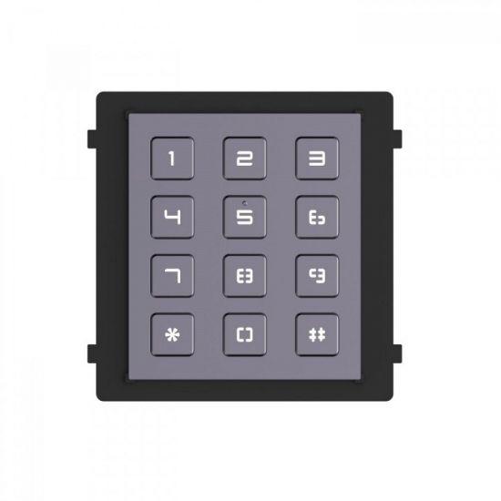 Модуль Hikvision DS-KD-KP клавиатуры с подсветкой