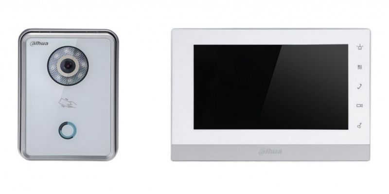 IP Комплект Dahua DHI-VTK-VTO6210BW-VTH1550CH видеодомофона