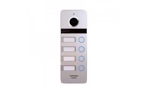 Вызывная панель для видеодомофона Falcon Eye FE-324 (серый, черный)
