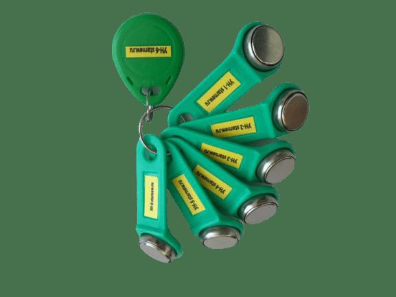 Комплект УК-6v3 (2020г) Вездеход универсальных ключей для домофона