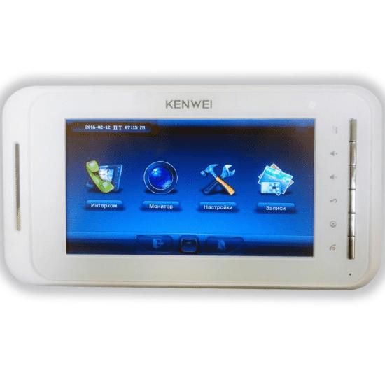 Видеодомофон KW-E707N (IP System)