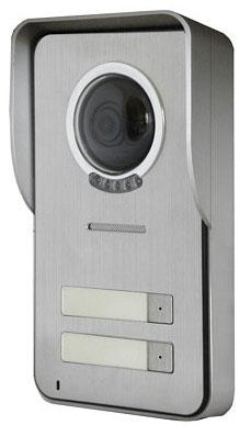 Панель Kenwei KW-S201C-2B-600TVL вызывная для видеодомофона (с козырьком)