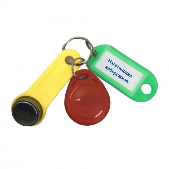 Ключ Нагатинская набережная универсальный домофонный
