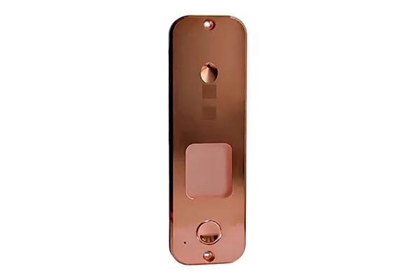Панель JSB Systems JSB 315.0 (блестящий хром, блестящая медь, блестящая латунь) вызывная для видеодомофона