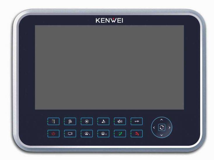 Монитор Kenwei KW-129C видеодомофона