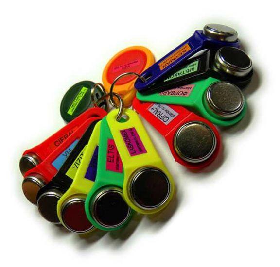 Комплект УК-12 универсальных ключей для домофона