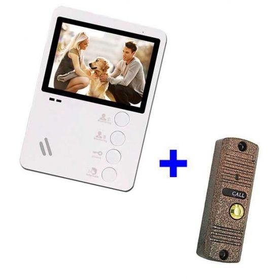 Комплект видеодомофона AltСam VDP431