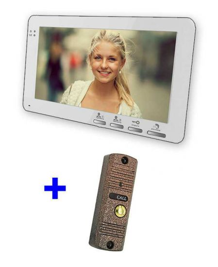 Комплект AltСam VDP71 видеодомофона