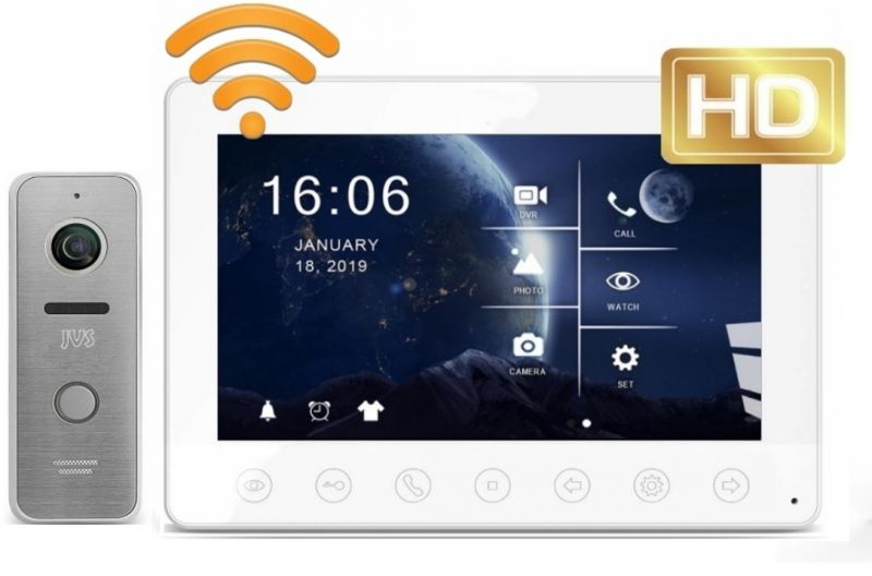 Комплект JVS SPARK HD WIFI видеодомофона