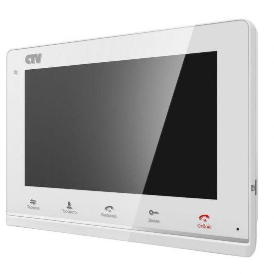 Монитор CTV-M3700 (белый, черный) видеодомофона