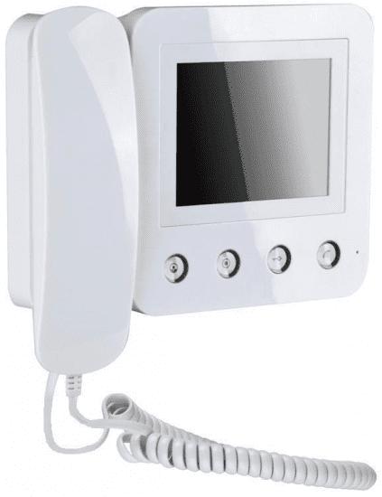 Монитор Kenwei KW-E400FC (черный, белый) видеодомофона