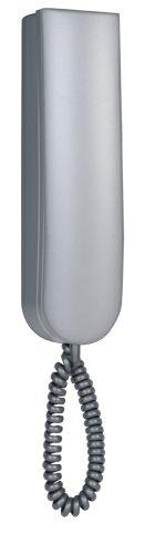 Трубка LM-8D серебро бархатная домофонная