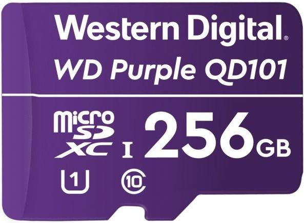 Карта MicroSDXC-карта Western Digital WDD256G1P0C памяти для видеонаблюдения