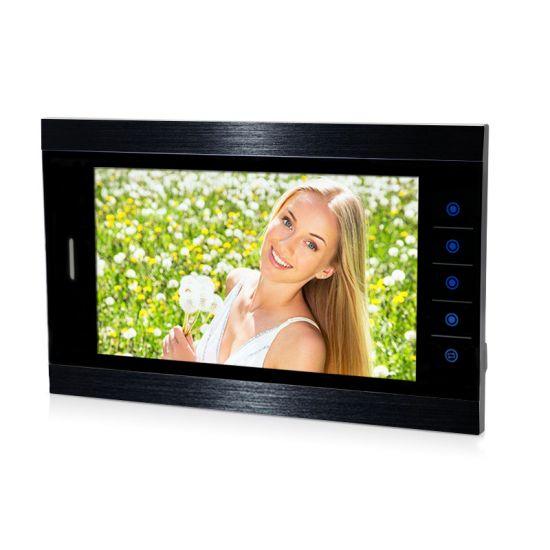 Монитор видеодомофона AltCam VDP102M AHD (черный)