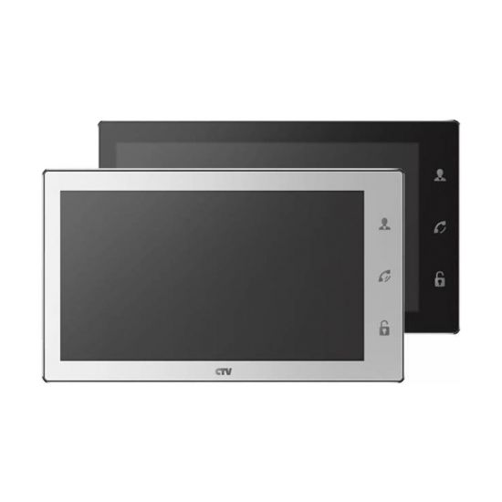 Монитор СTV М4102FHD WiFi (черный, белый) видеодомофона