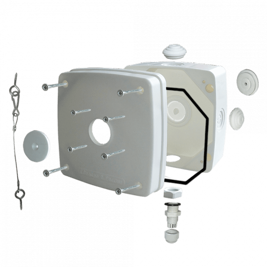 Монтажная коробка ST-K01 PRO (белая, черная)