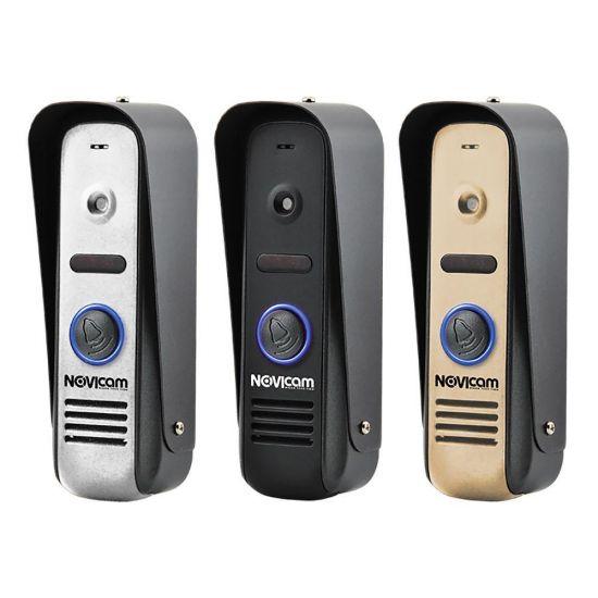 Панель Novicam MASK HD (черный, серебро, золото) вызывная для видеодомофона