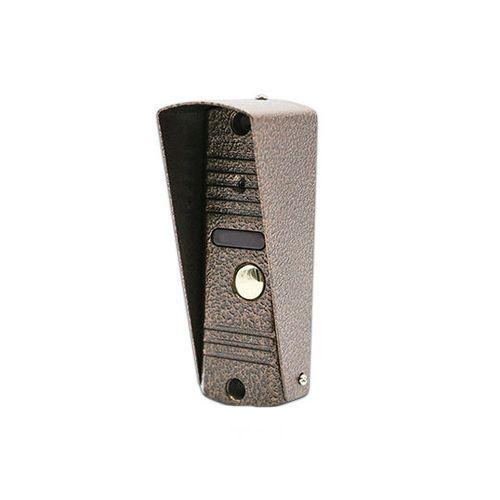 Панель J2000-DF-АДМИРАЛ ЛАЙТ PAL (медь) с козырьком вызывная для видеодомофона