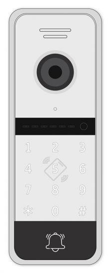 Панель Novicam FANTASY MRK HD многоабонентская вызывная для видеодомофона