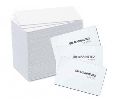 Инлеи EM-Marine (T5) ISO Card 4100 с кодом