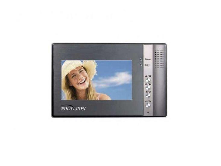 Монитор Polyvision PVD-704C (серый) видеодомофона
