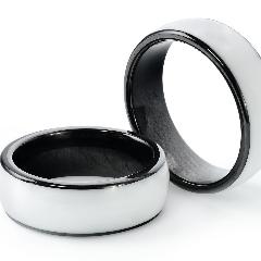 Заготовка RFID (Н2) кольцо 17-22мм (белый)