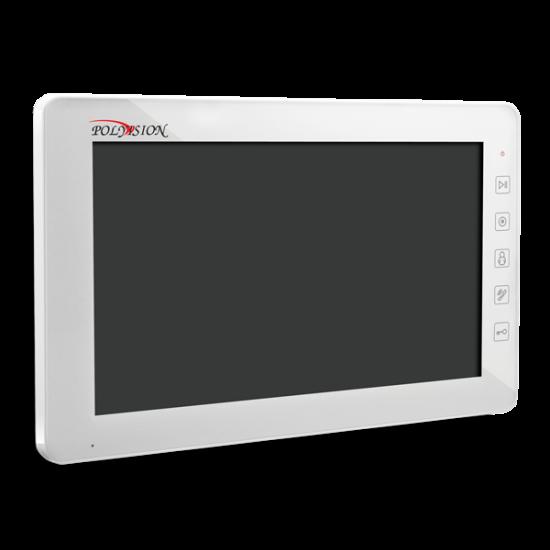 Монитор Polyvision PVD-10M v.7.1 (черный,белый) видеодомофона