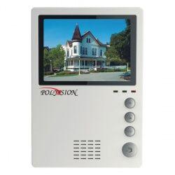 Монитор  Polyvision PVD-405C (белый) видеодомофона