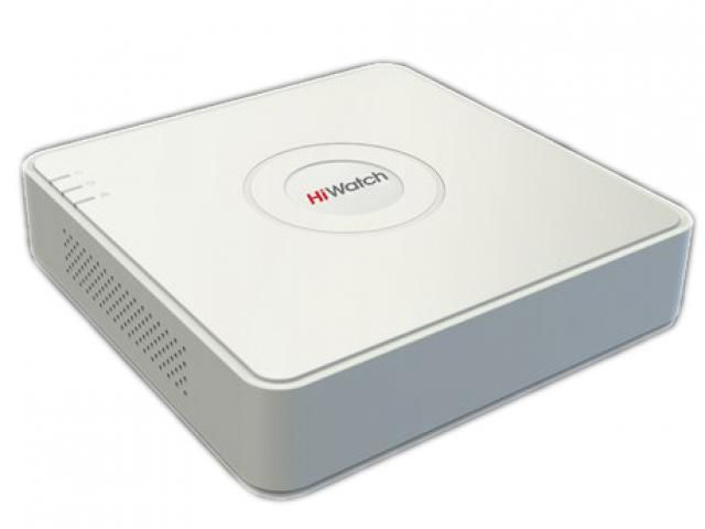 Регистратор HiWatch DS-N204P(B) 4-канальный IP-регистратор с PoE
