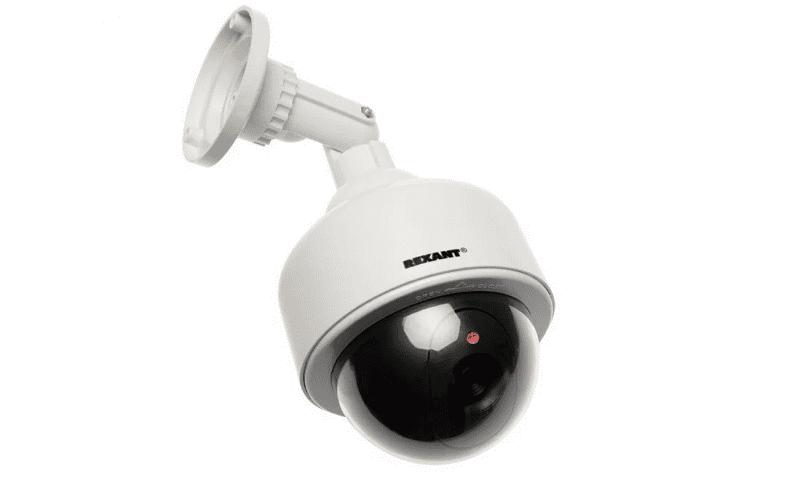 Муляж REXANT уличной камеры видеонаблюдения