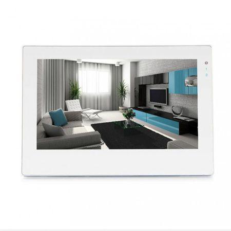 Видеодомофон J2000-DF-ВИОЛЕТТА AHD 2.0 Touch сенсорный W (белый)
