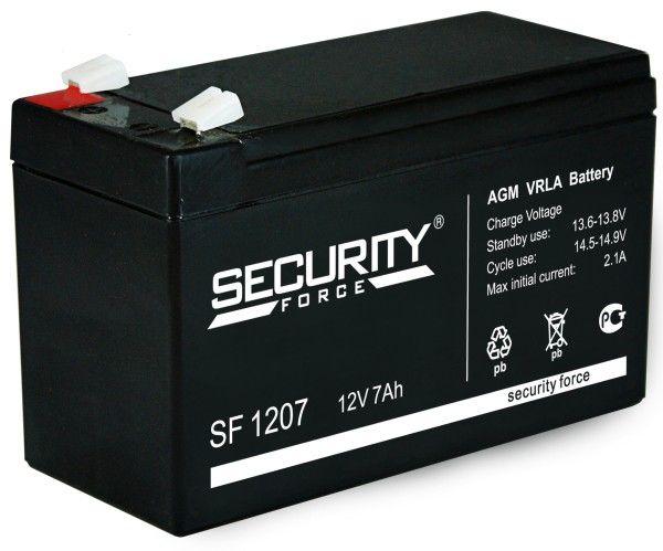 Аккумулятор Security Force SF 1207 7 А.ч