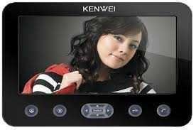 Монитор Kenwei KW-E706FC-W100 видеодомофона