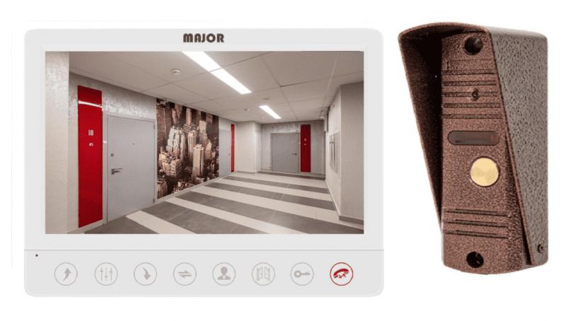 Комплект Major Alfa SD и панель Major Classic видеодомофона